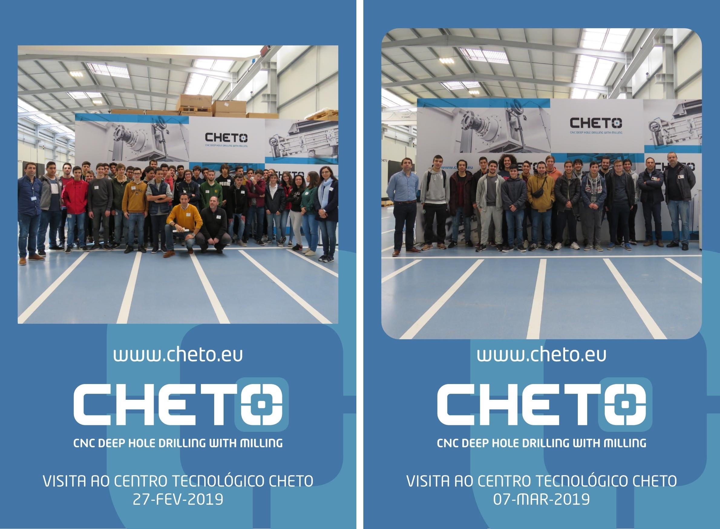 Visitas da Soares de Basto à CHETO