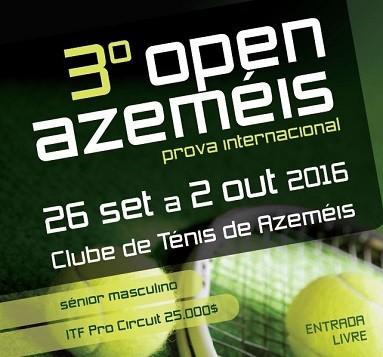 CHETO sponsors 3<sup>rd</sup> Open Azeméis
