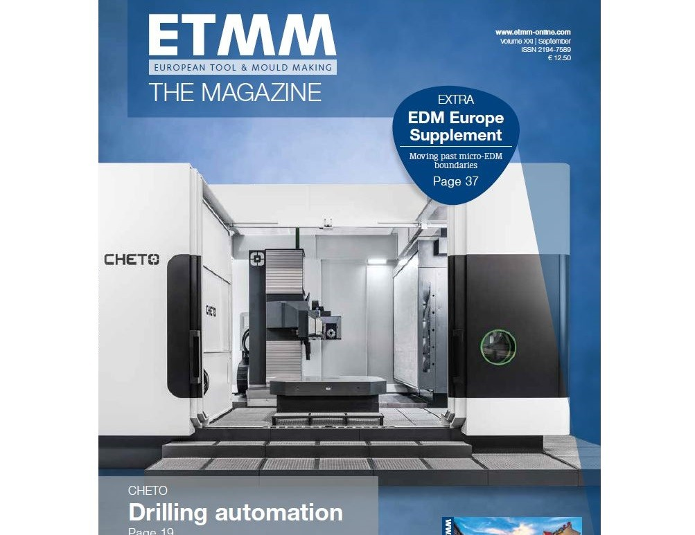 CHETO at ETMM magazine's cover