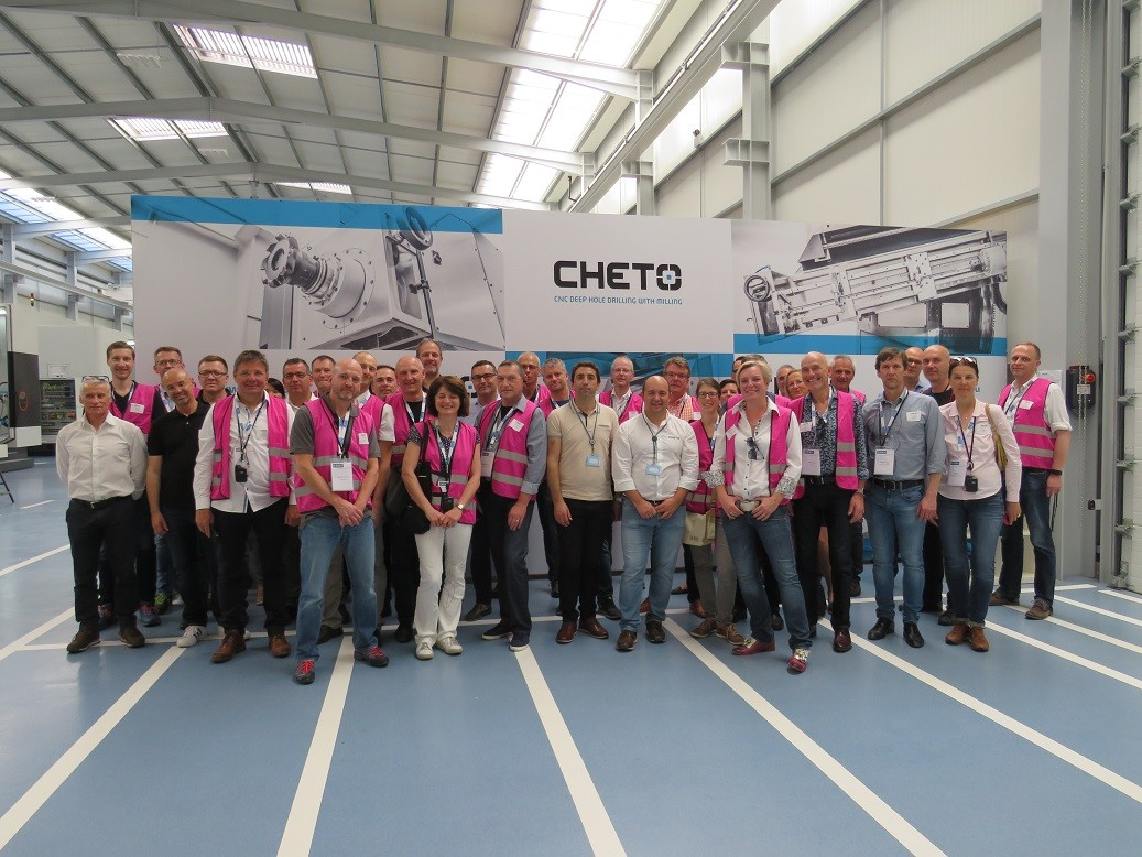 German Association VDWF visits CHETO