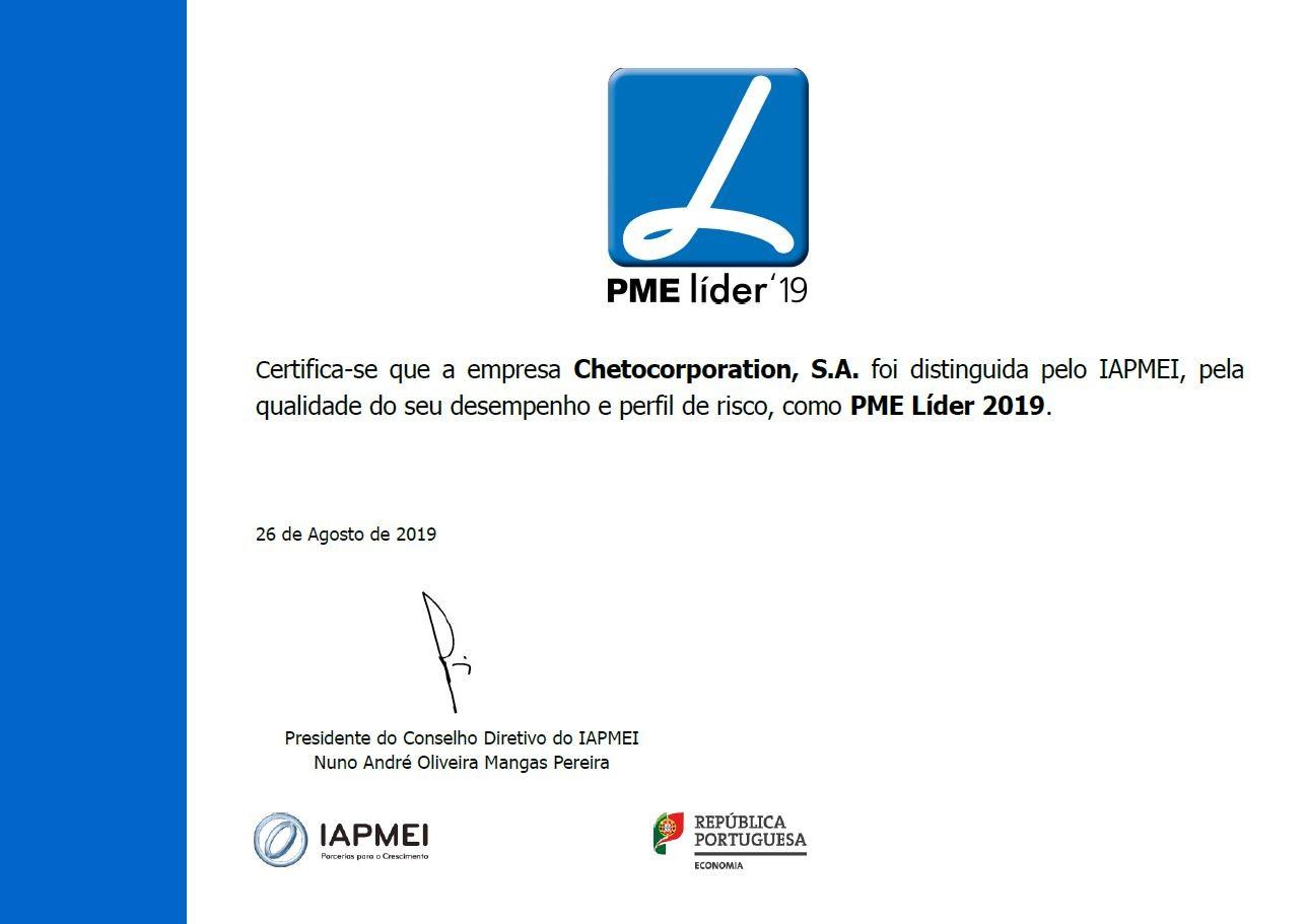 CHETO PME Líder 2019