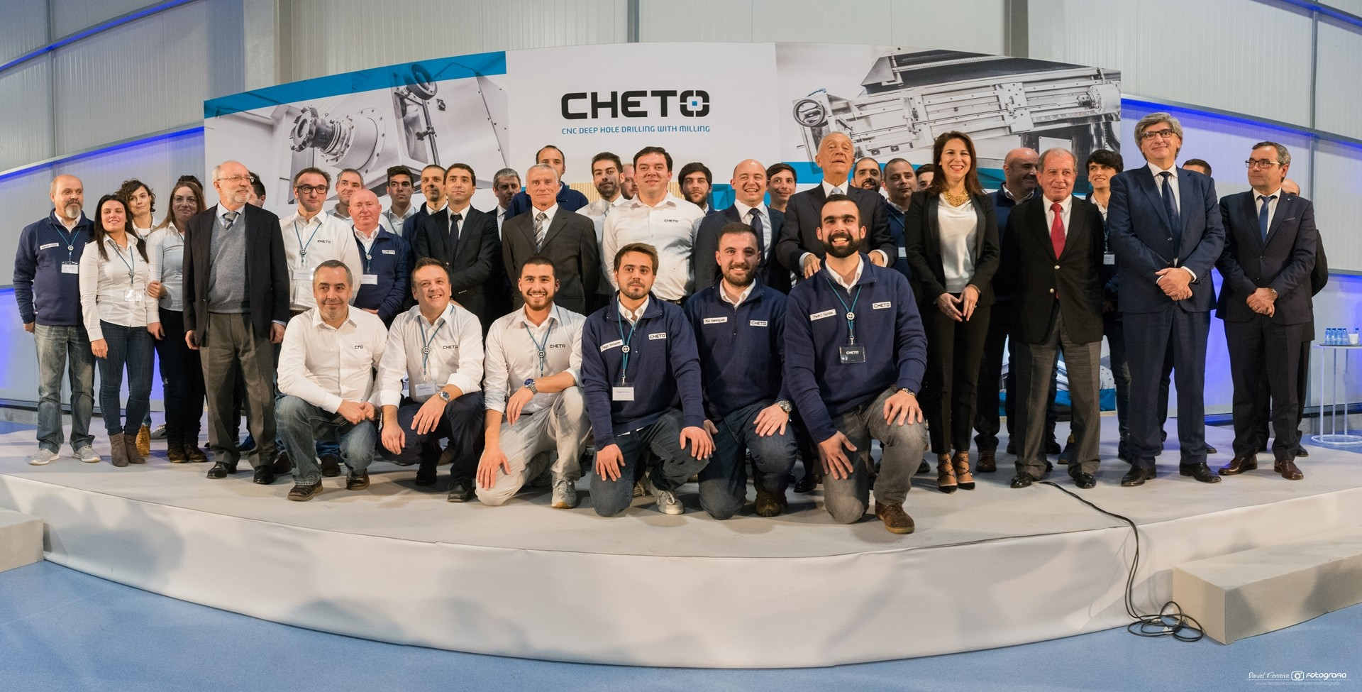 Inauguração do CHETO Technological Center